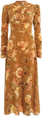 Zimmermann Resistance Silk Twist Dress