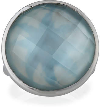 Elizabeth Showers Icon Doublet Ring in Blue, Size 7