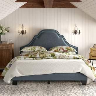 Raoul Willa Arlo Interiors Standard Bed Willa Arlo Interiors Size: Queen, Color: Annex Brindle