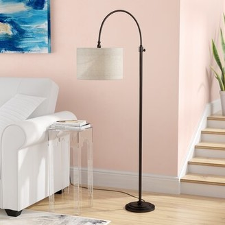 "Andover Mills Tristan 58"" Arched/Arc Floor Lamp"