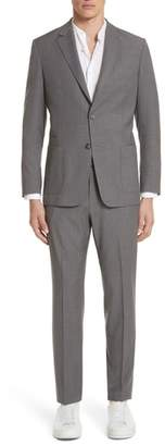 Ermenegildo Zegna TECHMERINO(TM) Wash & Go Trim Fit Solid Wool Suit