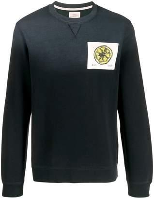 Kent & Curwen lemon print sweater