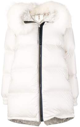 Mr & Mrs Italy zipped puffer jacket