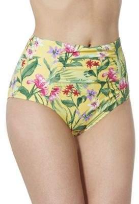 F&F Tropical Print High Waisted Bikini Briefs 6