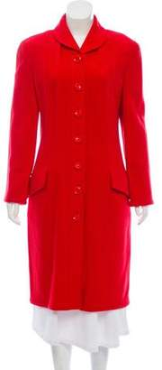 Valentino Wool Long Coat