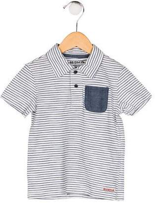 Hudson Boys' Striped Polo Shirt w/ Tags