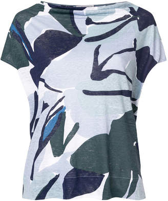 Le Tricot Perugia printed fitted T-shirt