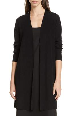 Eileen Fisher Simple Long Linen Blend Cardigan