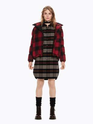 Scotch & Soda Checked Shirt Dress
