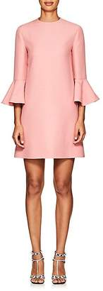 Valentino Women's Wool-Silk Crepe Shift Dress