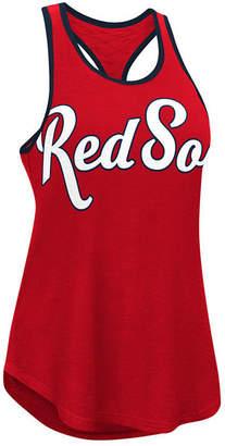 G-iii Sports Women's Boston Red Sox Oversize Logo Tank