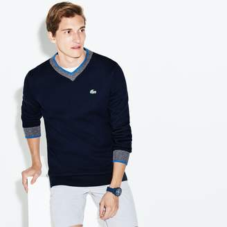 Lacoste Men's SPORT V-neck Knit Golf Sweater