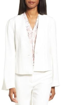 Women's Classiques Entier Crop Suit Jacket $329 thestylecure.com