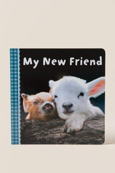 My New Friend Baby Book