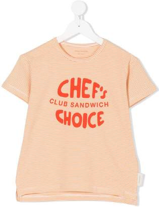 Tiny Cottons Chef's Choice print T-shirt