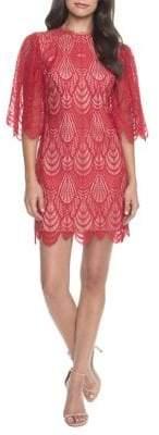 Dress the Population Toni Scalloped Lace Dress