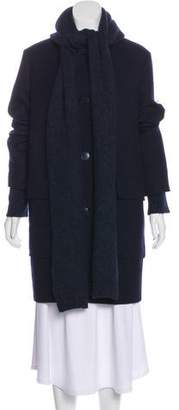 Stella McCartney Layered Wool Coat