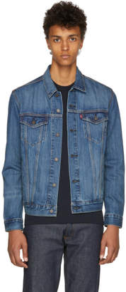 Levi's Levis Blue Trucker Jacket