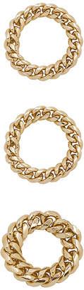 joolz by Martha Calvo Chain Link Rings