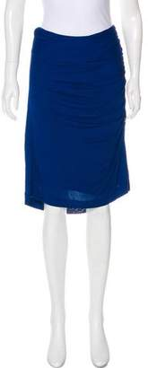 Derek Lam Draped Knee-Length Skirt