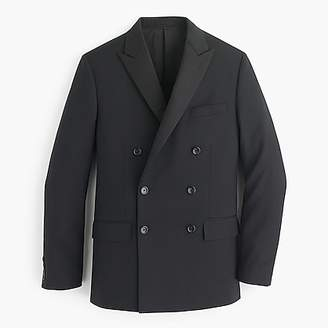 J.Crew Ludlow double-breasted tuxedo jacket in Italian wool