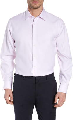 Nordstrom Traditional Fit Solid Dress Shirt