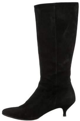 Calvin Klein Suede Knee-High Boots