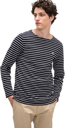 Lacoste (ラコステ) - コットンピケボーダーTシャツ (長袖)