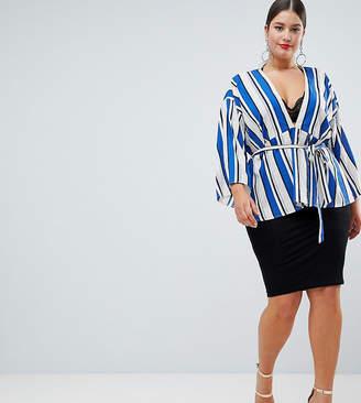 boohoo Plus Midi Skirt
