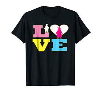 Love Penguins Shirt with Penguins for Women and Girls