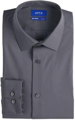 Apt. 9 Men's Slim-Fit HEIQ Premium Flex No-Iron Dress Shirt