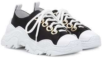 N°21 Satin sneakers