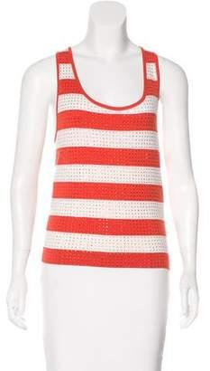 Celine Embellished Striped Top