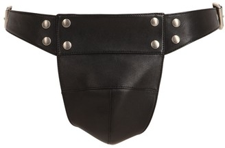 Gucci Adjustable Leather Jockstrap