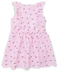 Design History Little Girl's Printed Woven Dress