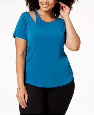 INC International Concepts I.n.c. Plus Size Cutout T-Shirt