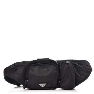 Prada Belt Bag Nylon Tessuto Montagna Black