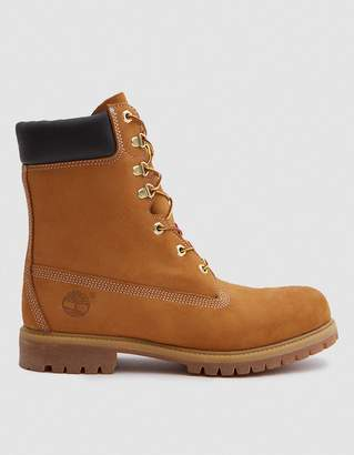 Timberland 8 in. Premium Boot in Wheat Nubuck