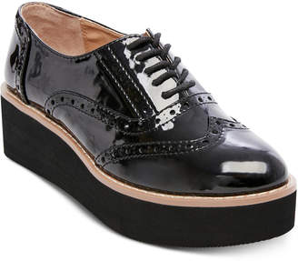 Madden-Girl Cutesy Flatform Oxfords
