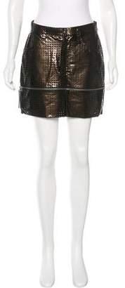 Issey Miyake Lasercut Convertible Skirt