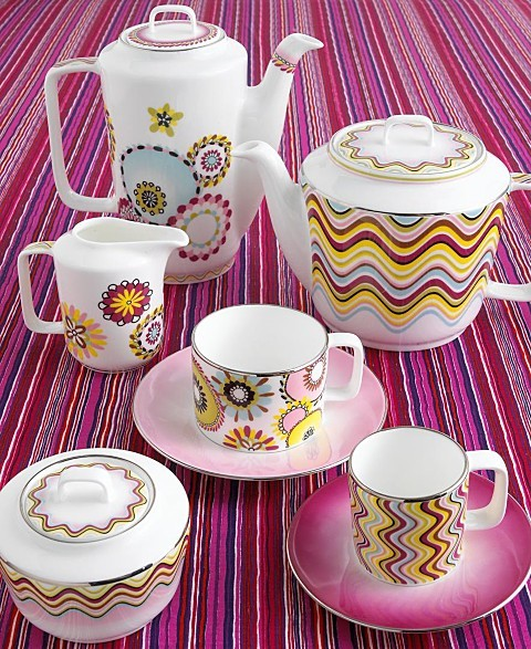 Missoni Margherita Tea Cup with Saucer