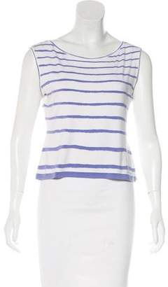 Hermes Striped Sleeveless Top