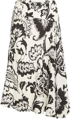 Lauren Ralph Lauren Kasy Midi Skirt