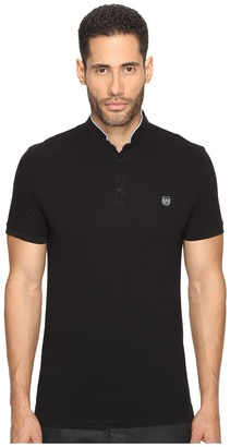 The Kooples - Officer Collar Polo with Contrasting Trim Men's T Shirt $120 thestylecure.com