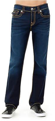 True Religion Ricky Straight W/ Flap Super T Mens Jean
