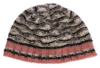 Missoni Metallic Knit Beanie