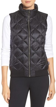 Women's Patagonia Prow Bomber Down Vest $149 thestylecure.com