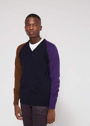 Comme des Garcons Homme Deux Balmoral Sweater