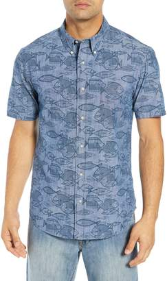 Reyn Spooner Kauhulu Tailored Fit Sport Shirt