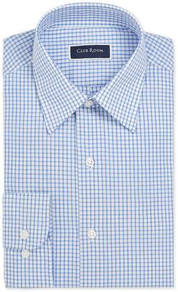 Club Room Men Classic/Regular Fit Check Dress Shirt